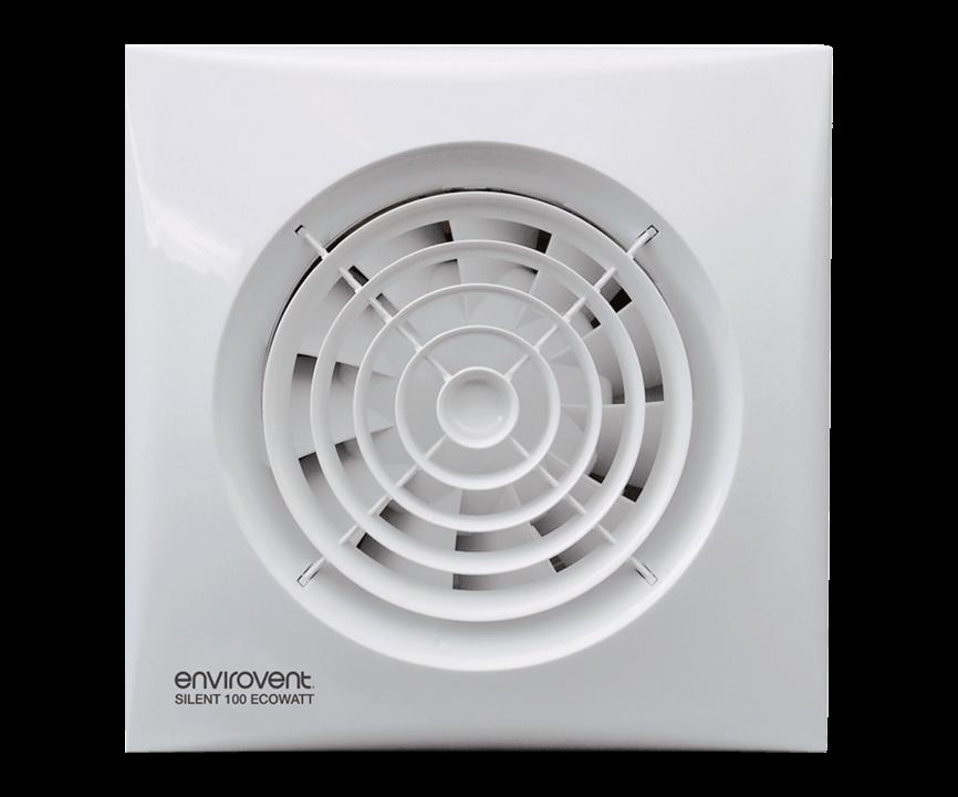Silent 100 Ecowatt   WC & Bathroom Extractor Fan   EnviroVent